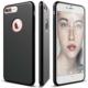 Elago iPhone 7 Plus Slim Fit Soft Kılıf Silikon Tam Koruma Siyah