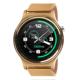 Dark SW08 Smart Watch IOS ve Android Uyumlu Gold Akıllı Saat (Altın Renkli Metal Kayış)(DK-AC-SW08G)