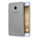 Microsonic Samsung Galaxy C7 Kılıf Transparent Soft