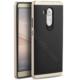 Case 4U Huawei Ascend Mate 8 Hybrid Korumalı İnce Arka Kapak Altın