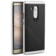 Case 4U Huawei Ascend Mate 8 Hybrid Korumalı İnce Arka Kapak Gümüş