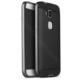 Case 4U Huawei Ascend G8 Hybrid Korumalı İnce Arka Kapak Gri