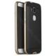 Case 4U Huawei G7 Plus Hybrid Korumalı İnce Arka Kapak Altın