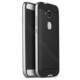 Case 4U Huawei G7 Plus Hybrid Korumalı İnce Arka Kapak Gümüş