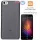Case 4u Xiaomi Mi5/Mi5 Prime/Mi5 Pro Silikon Kılıf Füme + Kırılmaz Cam