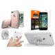 Spigen iPhone 7 Plus için All in 1 Paket - 4 (Spigen iPhone 7 Plus Kılıf - Spigen Apple iPhone 7 Plus Cam Ekran Koruyucu - Spigen Telefon Halkası Style Ring )