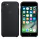Apple iPhone 7 Orjinal Silikon Kılıf Siyah (İthalatçı Garantili)