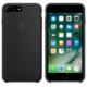 Apple iPhone 7 Plus Orjinal Silikon Kılıf Siyah (İthalatçı Garantili)
