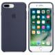 Apple iPhone 7 Plus Orjinal Silikon Kılıf Gece Mavisi (İthalatçı Garantili)
