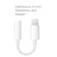 Apple iPad - iPhone Lightning - 3,5 mm Kulaklık Jakı Adaptörü (İthalatçı Garantili)