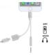 Case 4U Apple iPhone 7 Plus Kulaklık Ve Usb Şarj Adaptör Dönüştürücü Kablo