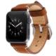 Case 4U Apple Watch 42mm Deri Kordon Kahverengi