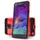 Case 4U Samsung Galaxy Note 4 Verus Korumalı Kapak Kırmızı
