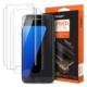 Spigen Samsung Galaxy S7 Edge Kavisli Tam Kaplayan Ön Ekran Koruyucu Steinheil Curved Crystal HD (2Adet)