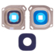 Casecrown Samsung Galaxy A8 A800 Orj Kamera Lens - Gold