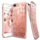 Ringke Air Prism 3D Elmas Yansıması iPhone 7 Plus Kılıf Rose Gold - Ultra Hafif Esnek İnce Renkli Transparan