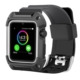 Case 4U Apple Watch 42mm Korumalı Kayış C-Armor Siyah