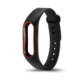 Xiaomi Mi Band 2 Akıllı Bileklik Kordonu Siyah -Kırmızı Çerçeveli