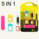 Technostyle Tüm Telefonlar İçin Sim Kart Çevirici Set + İğne