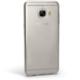 Case 4u Samsung Galaxy C5 Silikon Kılıf Şeffaf + Kırılmaz Cam