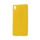 Case 4U Sony Xperia M5 Desenli Silikon Kılıf Sarı