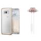 Spigen Samsung Galaxy S8 Plus 2in1 Avantaj Paketi 5 (Neo Hybrid Crystal Glitter Space Quartz + Bluetooth Kulaklık Beyaz)