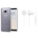 Spigen Samsung Galaxy S8 2in1 Avantaj Paketi 5 (Neo Hybrid Crystal Glitter Space Quartz + Bluetooth Kulaklık Beyaz)