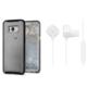Spigen Samsung Galaxy S8 Plus 2in1 Avantaj Paketi 1 (Liquid Crystal Glitter Crystal Quartz + Bluetooth Kulaklık Beyaz)