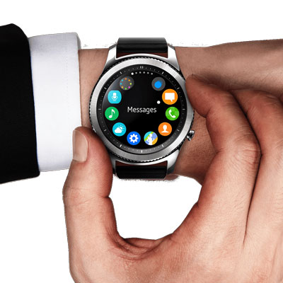 Samsung Galaxy Gear S3 Frontier (Android ve iPhone Uyumlu ...