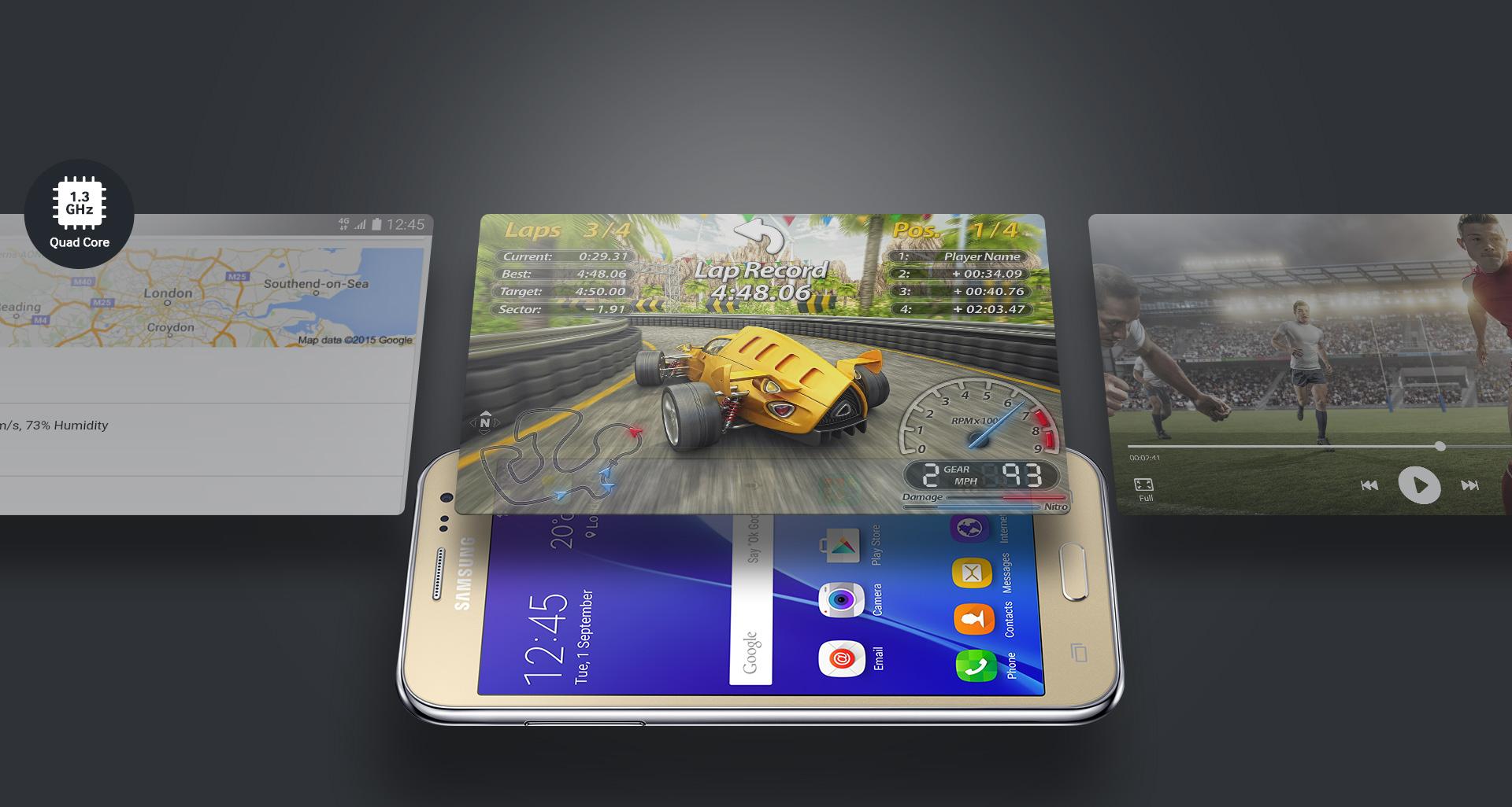 Samsung Galaxy J2 4G ile Tanışın