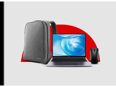 Teknorya satıcılı Huawei MateBook 14 Alana Huawei Pascal çanta Ve Huaweı AF30 mouse hediye