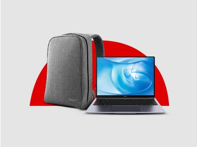 Huawei MateBook 14 alana Huawei Pascal çanta hediye