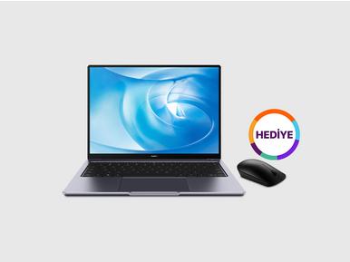 Huawei MateBook 14 alana Huawei CD20 mouse hediye