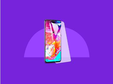 Samsung Galaxy A70 alışverişinde Case 4U ekran koruyucu %15 indirimli