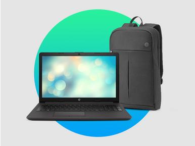Prodigi teknoloji satıcısından HP 255 G7 notebook alana HP sırt çantası hediye