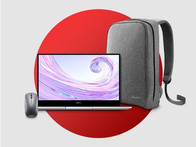 Huawei Matebook D14 AMD Ryzen 7 bilgisayar alana Huawei çanta ve mouse hediye