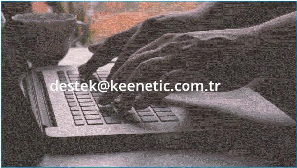 Keenetic E-posta Destek