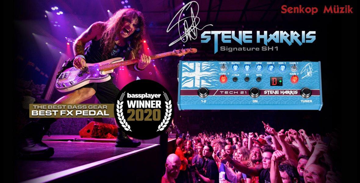 Tech 21 SH1 Steve Harris Sansamp Bas Gitar Pedalı